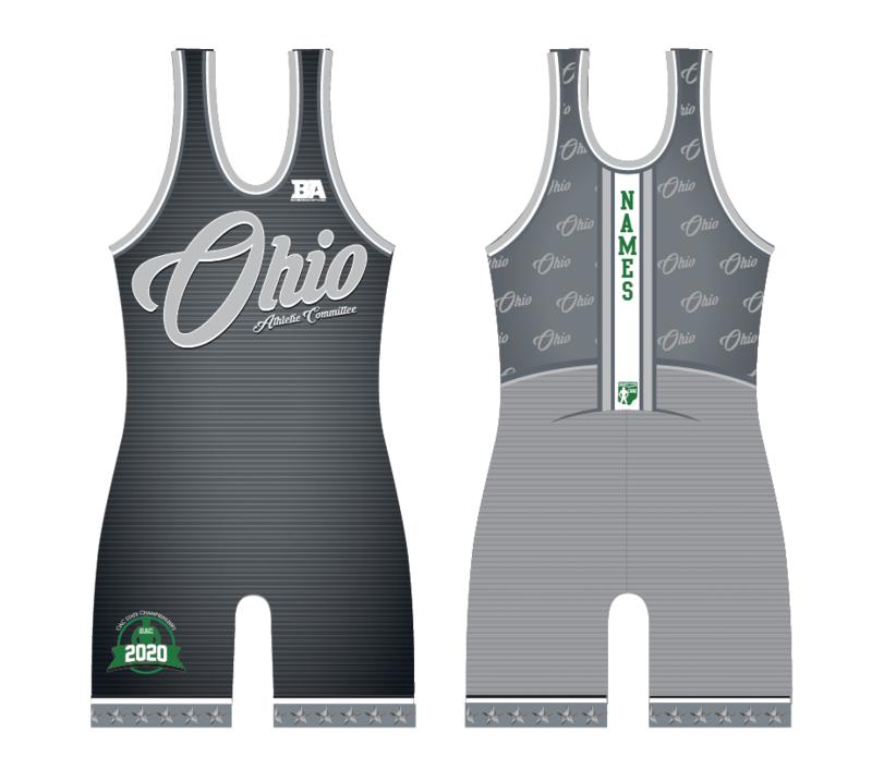 2020 OAC Singlet Gray