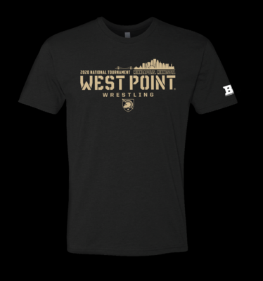 Army 2020 National Tournament BLACK shirt
