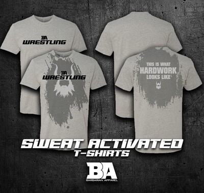 NEW BA SWEAT ACTIVATED SHIRTS