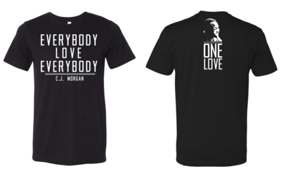 CJ Morgan One Love Tri-blend Shirt