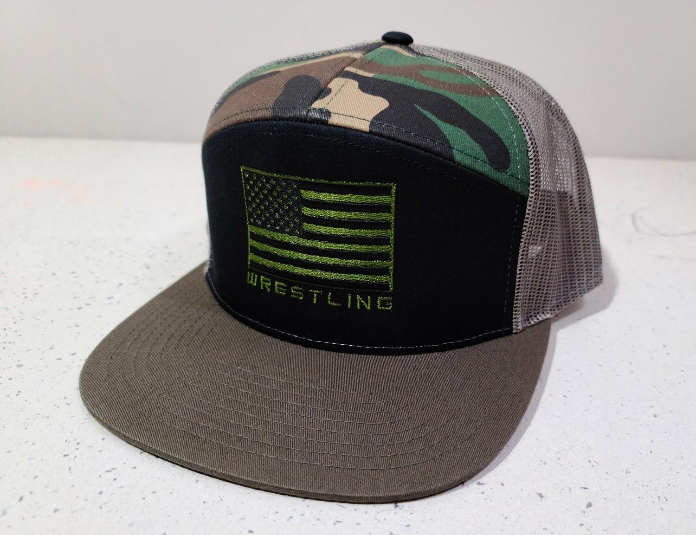 BA Camo USA 7 Panel Hat
