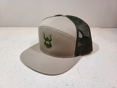 BA sand logo 7 Panel Hat