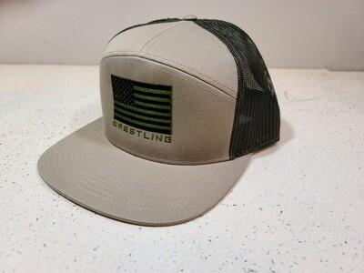 BA Sand USA 7 Panel Hat
