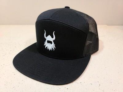 BA black logo 7 Panel Hat