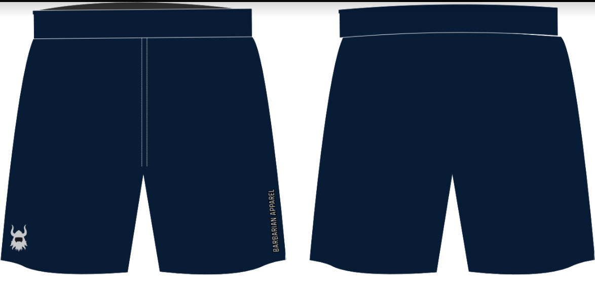 Navy Elite Shorts