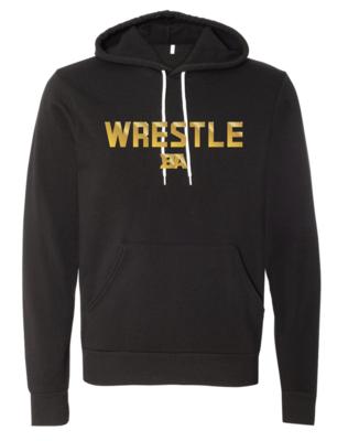 Metallic Gold Wrestle Hoodie