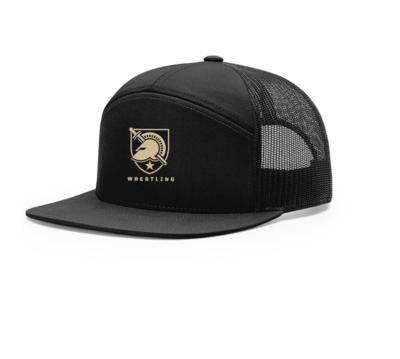 West Point 7 Panel Mesh Back Hat