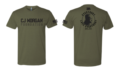 CJ Morgan Foundation Tri-blend Shirt