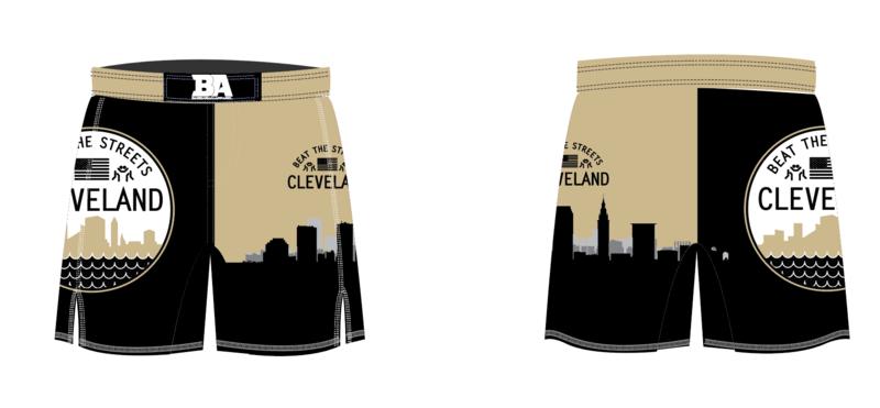 Cleveland BTS Fight Shorts