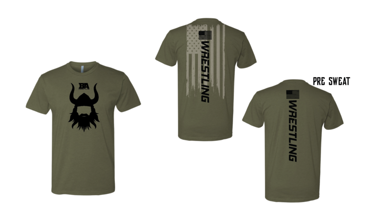 BA SWEAT ACTIVATED OLIVE SHIRTS