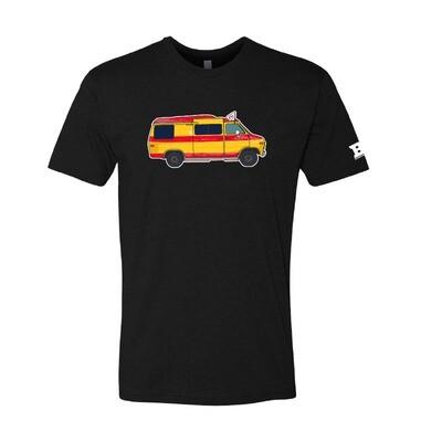 Stalemates Travel Van blend shirt