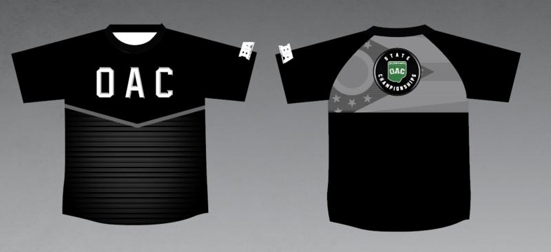 2021 OAC NEW Mesh Back Compression shirt