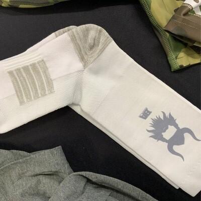 White ba sock