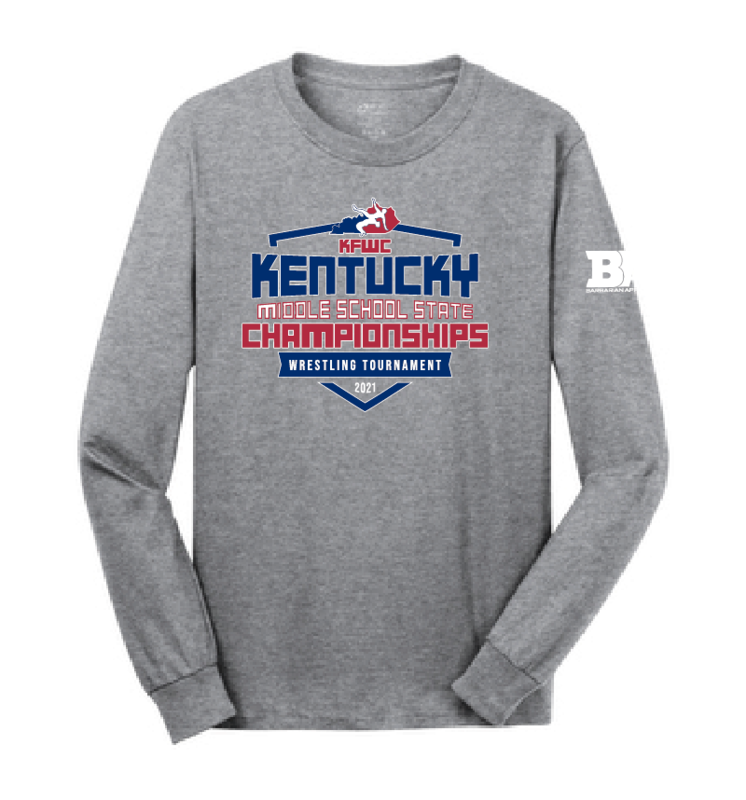 2021 Kentucky Middle School State Long Sleeve Shirt