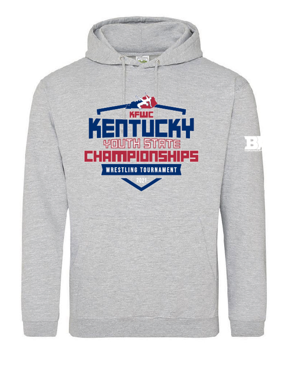 2021 Kentucky YOUTH State  Hoodie