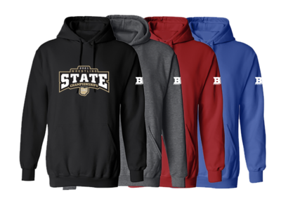 2021 OAC STATE HOODIE - GRADE SCHOOL NAMES LISTED ON BACK