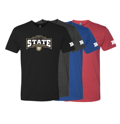 2021 OAC STATE Short Sleeve - GRADE SCHOOL NAMES LISTED ON BACK