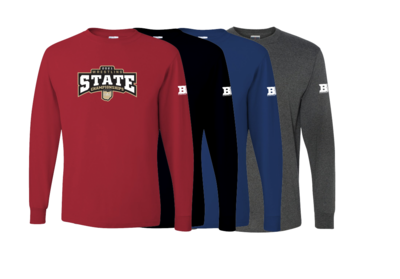 2021 OAC STATE Long Sleeve- GRADE SCHOOL NAMES LISTED ON BACK
