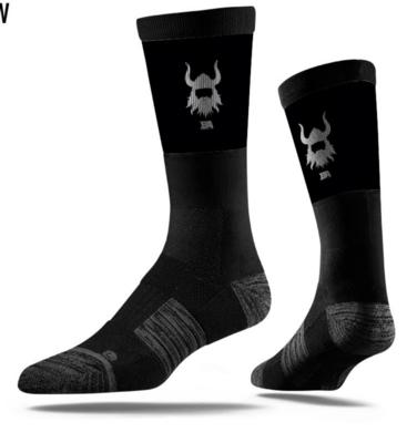 Black BA sock