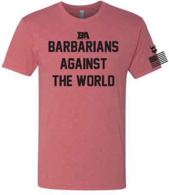 Barbarian Against The World Tri-Blend Shirt*