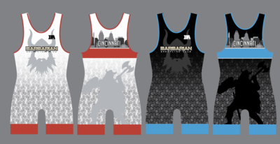 Barbarian Wrestling Club Singlet Set