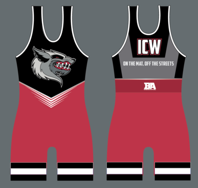 ICW NEW Wrestling Singlet