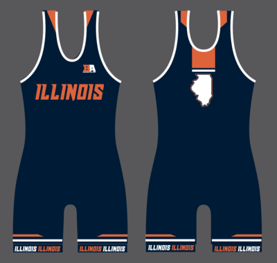 Illinois Womens Singlet