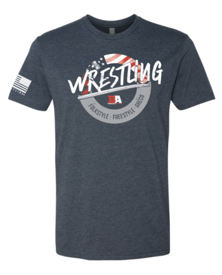 Barbarian USA Folkstyle/Freestyle/Greco Shirt