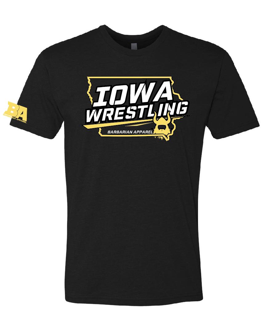 Barbarian IOWA Wrestling Shirt