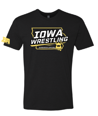 Barbarian IOWA Wrestling Shirt