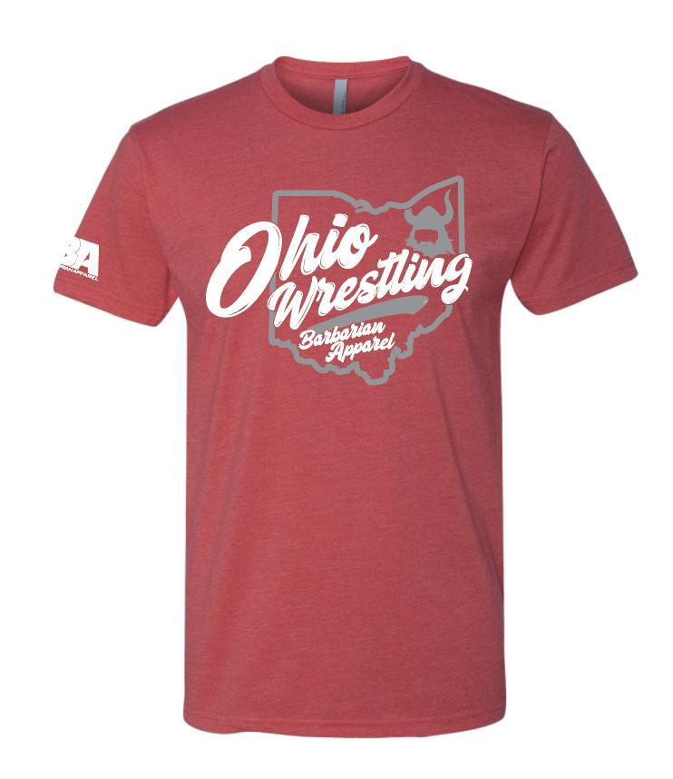 Barbarian Ohio Wrestling Shirt