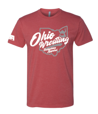 Barbarian Ohio Wrestling Shirt