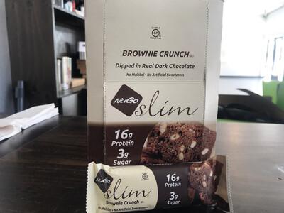 Nugo Slim Brownie Crunch Bars