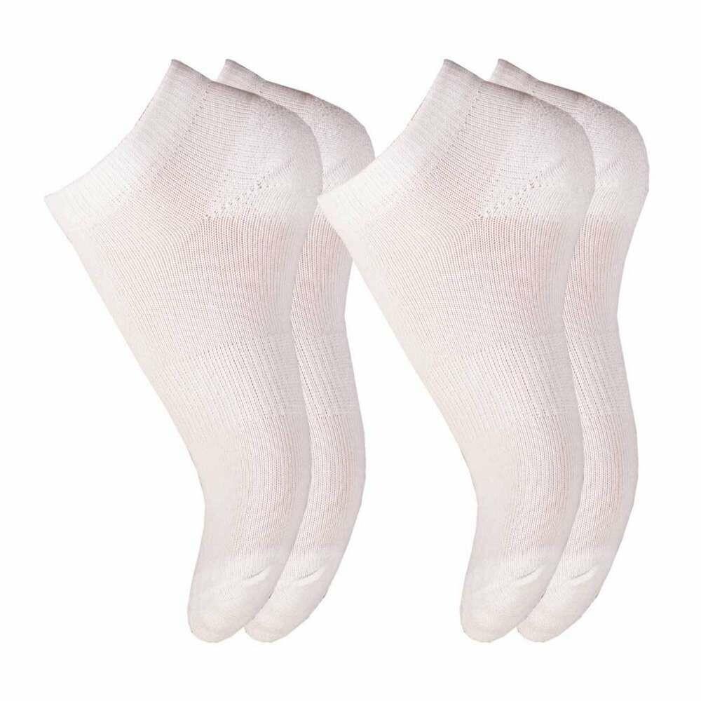 Lyhytvartinen sukka, valkoinen