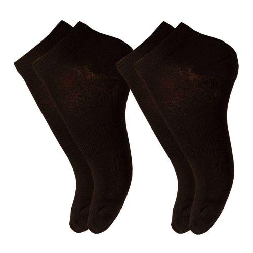 Lyhytvartinen sukka, musta