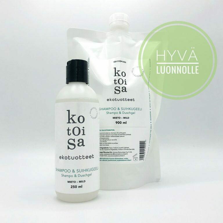 Shampoo & suihkugeeli
