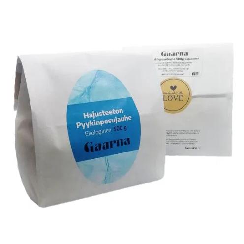 Pyykinpesujauhe, hajusteeton, 500 g