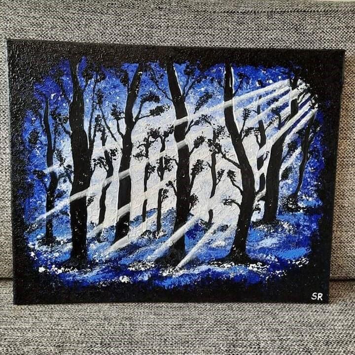 """""""Sininen metsä"""""""