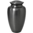 Simple Grey Solid Brass Urn