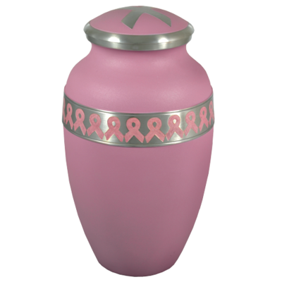 Jamie Bodkins Power of Pink Breast Cancer Ribbon Urn
