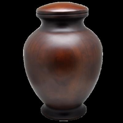 Simply Elegant Wooden Urn