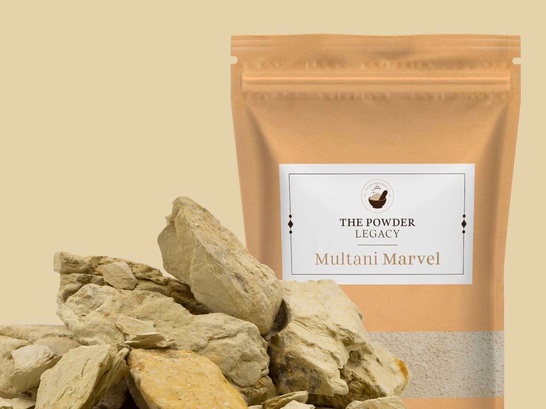 Multani Marvel - 500 Grams | Bath Powder