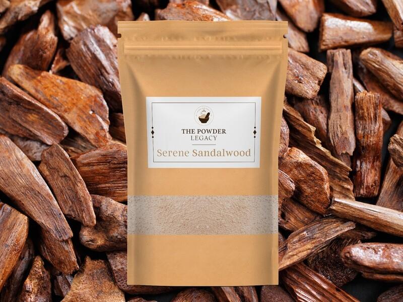 Serene Sandalwood - 500 Grams | Organic Bath Powders