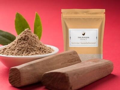 Serene Sandalwood - 250 Grams   Organic Bath Powders