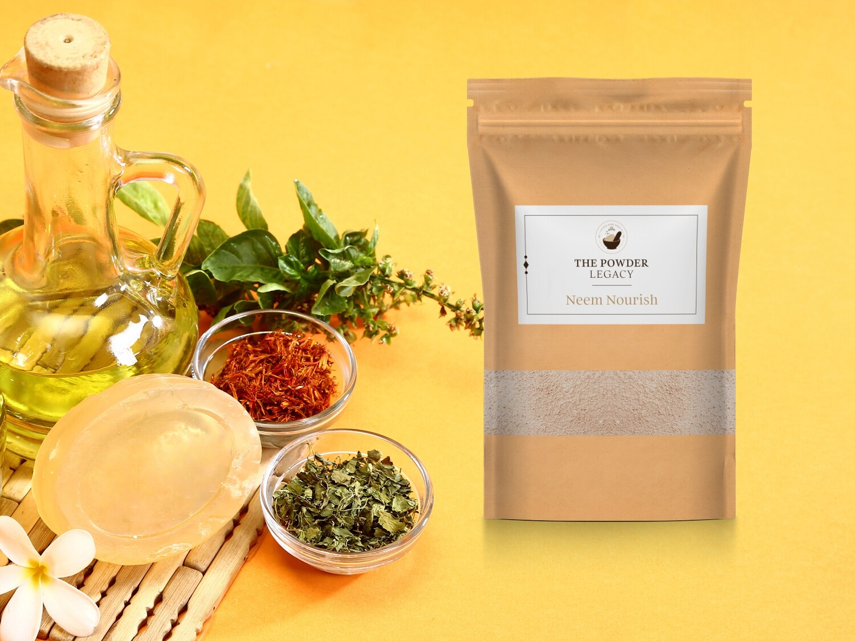 Neem Nourish - 250 Grams | Herbal Bath Powder