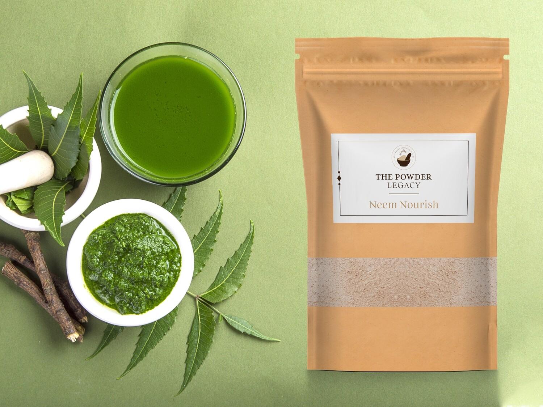 Neem Nourish - 500 Grams | Herbal Bath Powder
