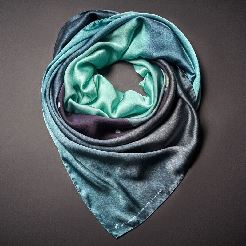 Шелковый платок «Душа»