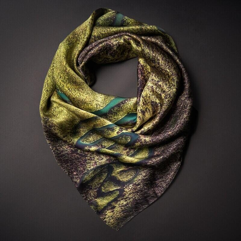 Шелковый платок «Радость бытия»