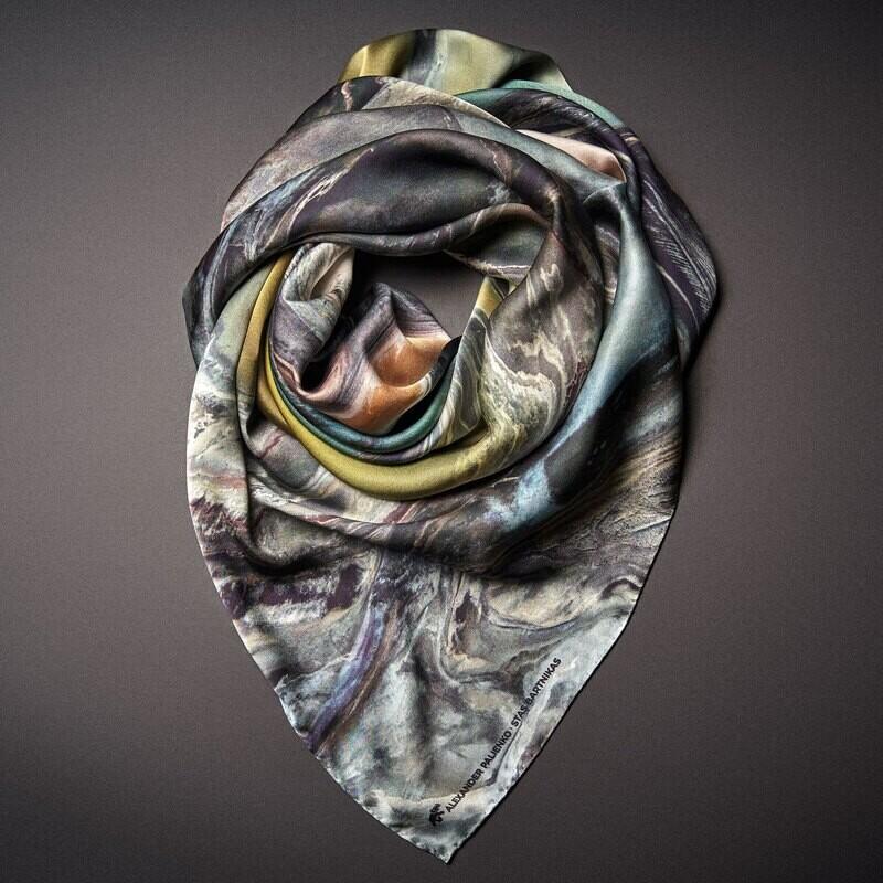 Шелковый платок «Развитие»