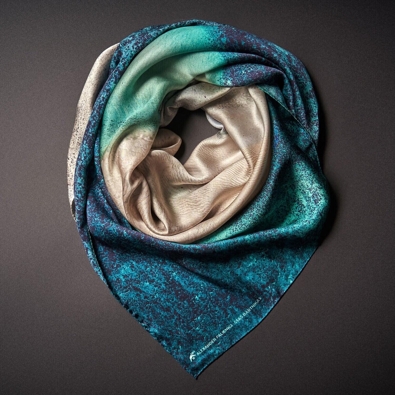 Шелковый платок «Нежность»